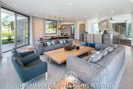 غرفة المعيشة تنفيذ Hi-cam Portugal