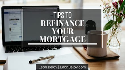 Tips for Refinancing by Leon Belov: classic Houses by Leon Belov | The Lending Group Co