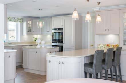 Enough Worktop Real Estate For Any Master Baker:  Built-in kitchens by Woollards of Mildenhall