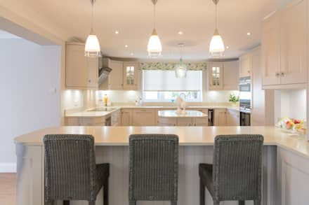 Kitchen Lighting At It's Best:  Built-in kitchens by Woollards of Mildenhall