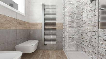 CASA CC: Bagno in stile in stile Moderno di De Vivo Home Design