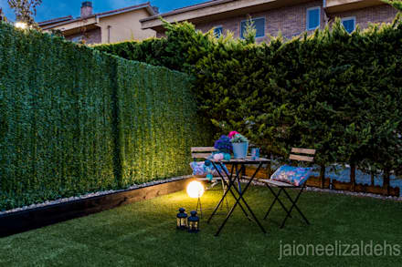 Estilismo y fotografia Unifamiliar en Gorraiz: Jardines de estilo clásico de jaione elizalde estilismo inmobiliario - home staging