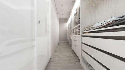 CASA AV: Spogliatoio in stile  di De Vivo Home Design