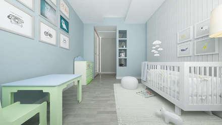 Teen bedroom by De Vivo Home Design