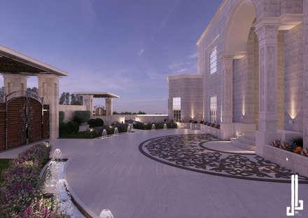 Exterior facade :  Villas by dal design office