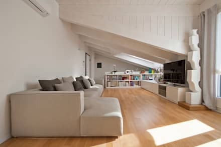 modern Living room by Chantal Forzatti architetto