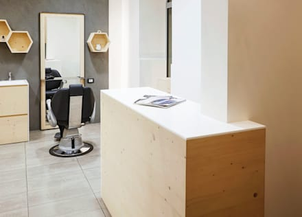 Oficinas y Tiendas de estilo  por Design for Love