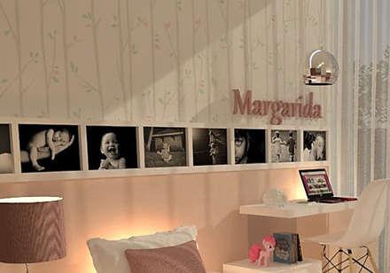 Zona de estudo...: Quartos de rapariga  por Casactiva Interiores
