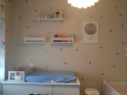 комнаты для новорожденных в . Автор – BARBARA PITANGUEIRA ARQUITETA