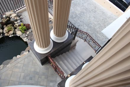 Rumah Tinggal Mewah di Semarang:  Koridor dan lorong by Paulus Adi Budianto