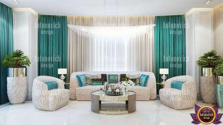 House Design in LA from Katrina Antonovich: eclectic Bedroom by Luxury Antonovich Design