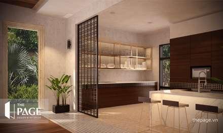 غرفة السفرة تنفيذ The Page Interior & Design