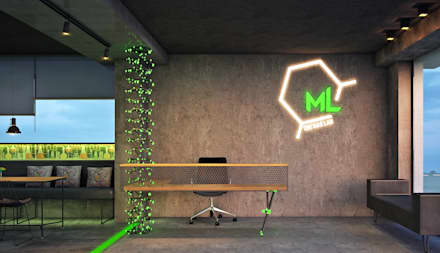 ML- The bar Lab:  Bars & clubs by Designism
