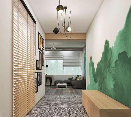 Residence:  Corridor & hallway by Designism
