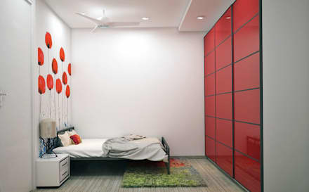 Residence: eclectic Bedroom by Designism