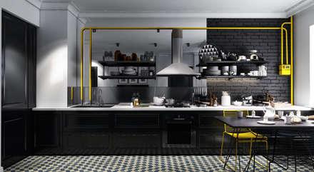 дизайн квартиры: Кухни в . Автор – FILYANOV_INTERIOR