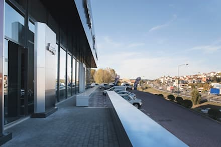 Car Dealerships by Terra Arquitectos