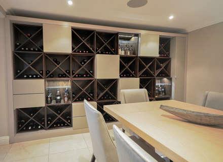 PORTFOLIO 2018: modern Wine cellar by CLINT LEWIS DESIGNS