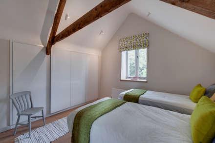 The Milking Parlour: country Bedroom by van Ellen + Sheryn