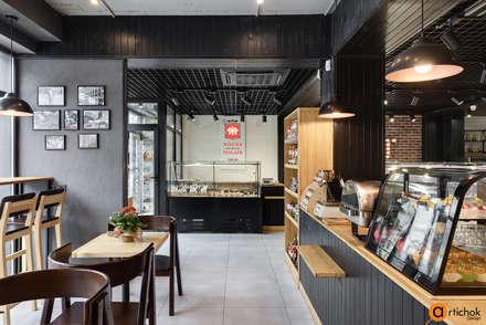 Дизайн интерьера фирменного магазина: Коммерческие помещения в . Автор – Art-i-Chok