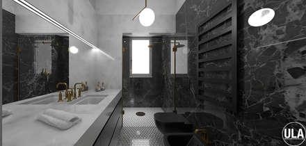 TATA: Bagno in stile in stile Eclettico di ULA architects