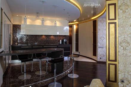 Кухня в стиле ар деко на пр. Маршала Жукова: Кухни в . Автор – Технологии дизайна