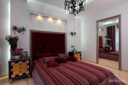Спальня в стиле ар деко на пр. Маршала Жукова: Спальни в . Автор – Технологии дизайна
