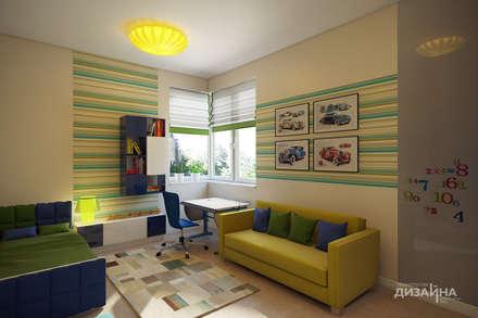 Детская в эко стиле в загородном доме: Детские спальни в . Автор – Технологии дизайна