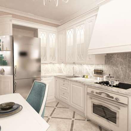 Квартира 66 кв.м: Кухни в . Автор – owndesign