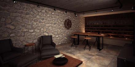 قبو النبيذ تنفيذ PRAGMA Arquitectura