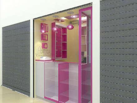 Arquitectura Comercial: Bodegas de estilo moderno por HoaHoa Espacios SAS