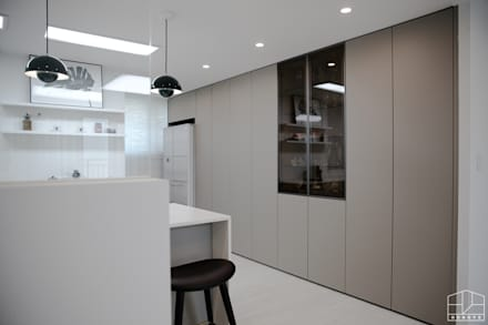 Built-in kitchens by 홍예디자인