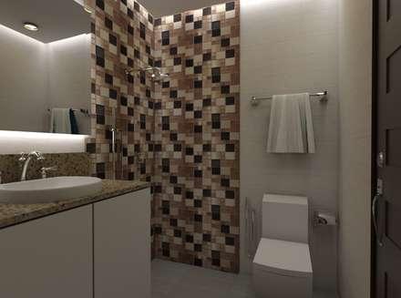 Casa Alexandria Bathroom 2 : mediterranean Bathroom by Constantin Design & Build