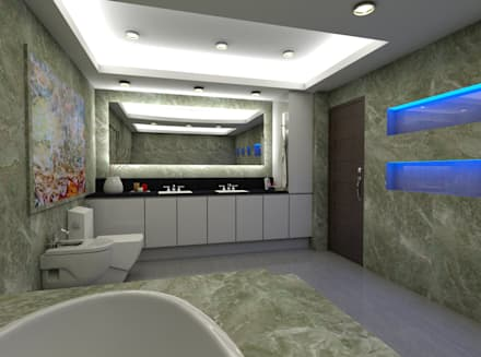 Casa Alexandria's Master's Bathroom: mediterranean Bathroom by Constantin Design & Build