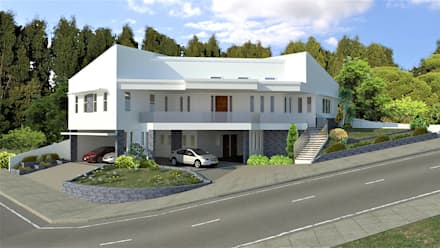 Casa Allea: modern Houses by Constantin Design & Build