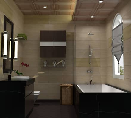 Chateau de boudreault guest bathroom mediterranean bathroom by constant integrated project development corp