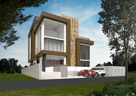 JALAN DAMAI JAYA 3:  Bungalows by Arkitek Axis