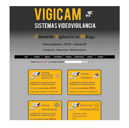 WEB: Paredes de estilo  de VigiCam