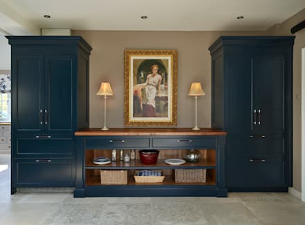 Audley | Georgian Country House :  Built-in kitchens by Davonport