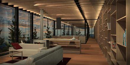 Casa Matanzas: Ventanas de estilo  por Nicolas Loi + Arquitectos Asociados