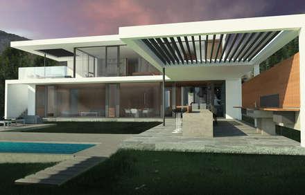 مسبح تنفيذ Nicolas Loi + Arquitectos Asociados