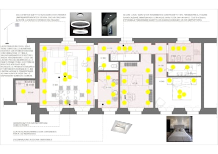 recupero in stabile storico: Cucinino in stile  di virtual3dproject
