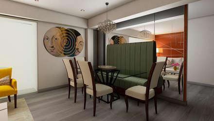 Proyecto JJ: Comedores de estilo moderno por Luis Escobar Interiorismo
