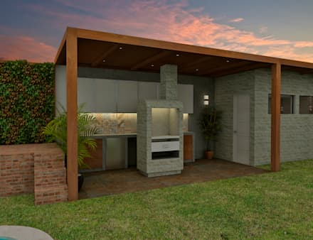 Proyecto ED: Cocinas de estilo moderno por Luis Escobar Interiorismo