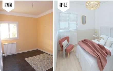Aménagement et décoration d'une Chambre: Chambre de style de style Moderne par GRAM Architecture