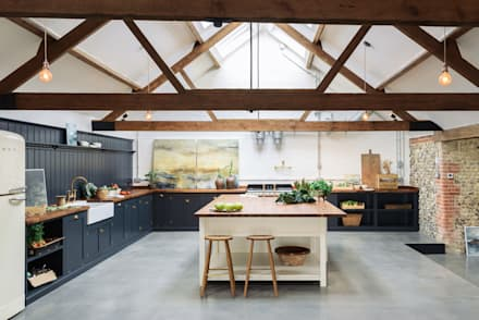 the cattle shed kitchen north norfolk country kitchen by devol kitchens - Kitchens Interior Design