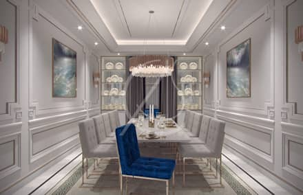 Dining Room Classic By Comelite Architecture Structure And Interior Design