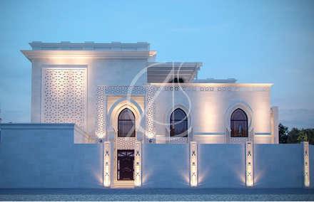 Side Entrance:  Villas by Comelite Architecture, Structure and Interior Design