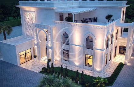 Bird's Eye View:  Villas by Comelite Architecture, Structure and Interior Design