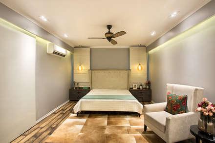 CHATTARPUR FARM HOUSE, NEW DELHI: eclectic Bedroom by Total Interiors Solutions Pvt. ltd.